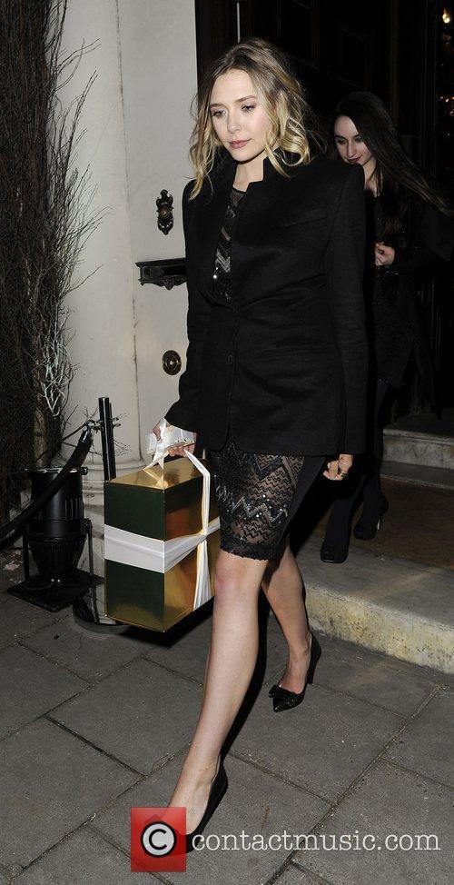 Elizabeth Olsen and London Fashion Week 2