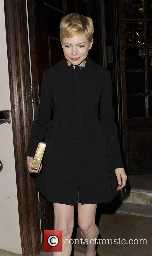 Michelle Williams and London Fashion Week 2