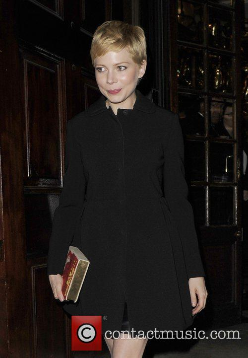 Michelle Williams and London Fashion Week 3