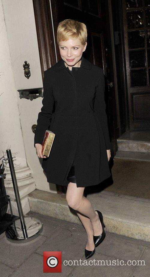 Michelle Williams and London Fashion Week 5