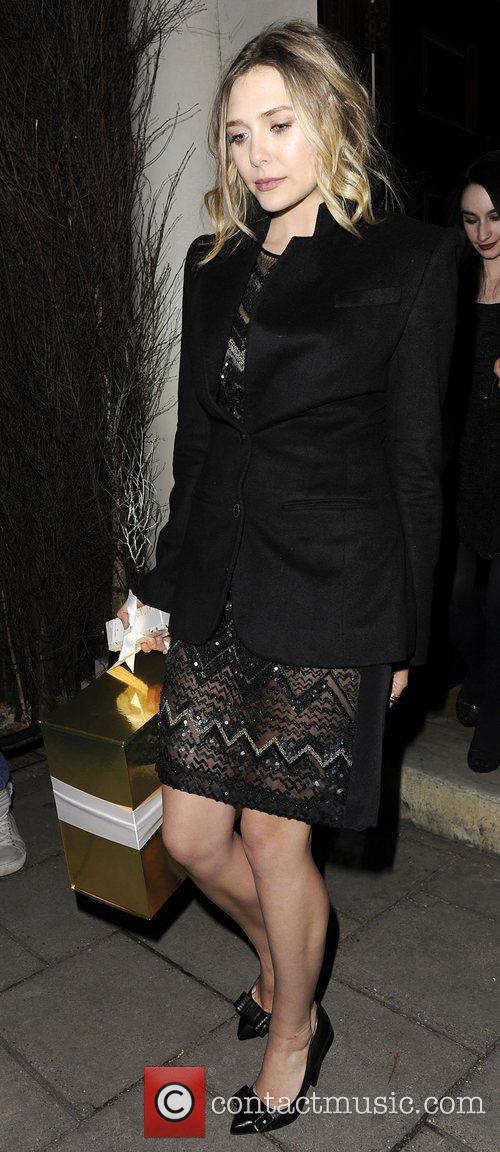 Elizabeth Olsen and London Fashion Week 3