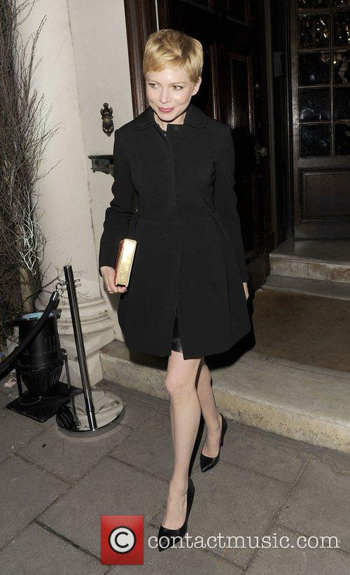 Michelle Williams and London Fashion Week 8