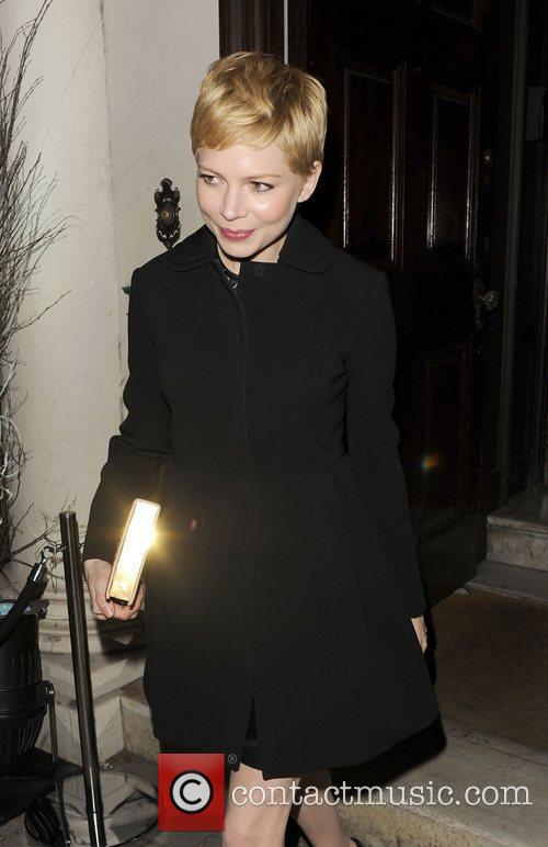 Michelle Williams and London Fashion Week 9