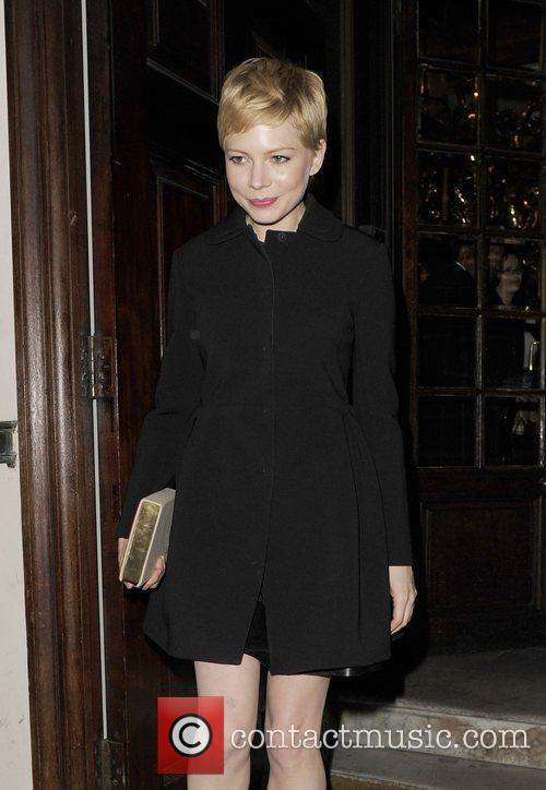 Michelle Williams and London Fashion Week 1