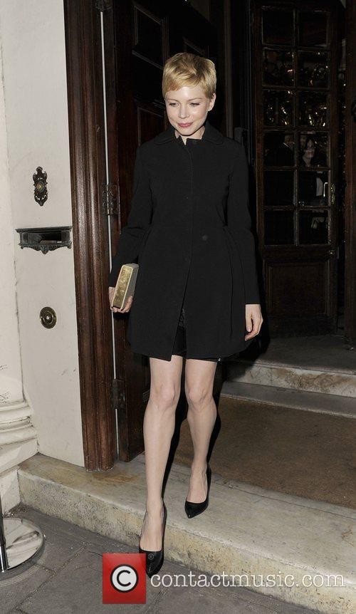 Michelle Williams and London Fashion Week 10