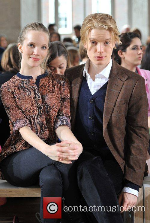 Tamzin Merchant, Freddie Fox and London Fashion Week