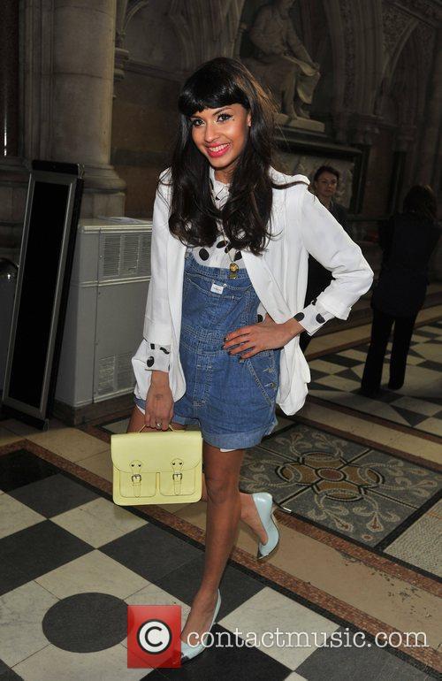 Jameela Jamil and London Fashion Week 2