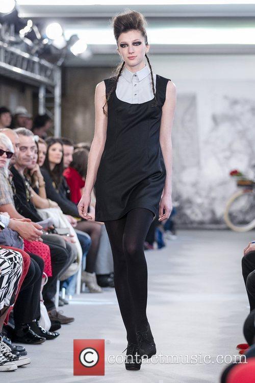 Model  Lisbon Fashion Week – Spring/Summer 2012...