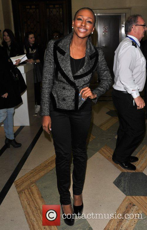 Alexandra Burke and London Fashion Week 3