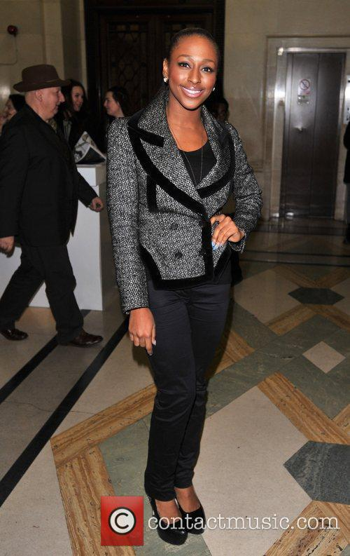 Alexandra Burke and London Fashion Week 5