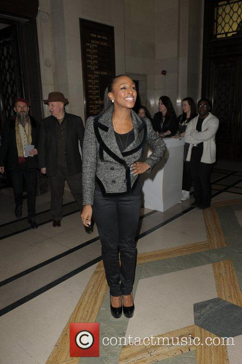 Alexandra Burke and London Fashion Week 7