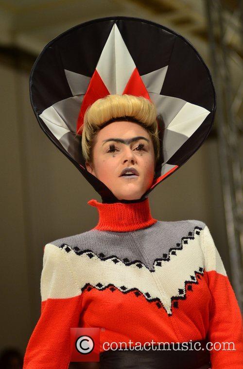 Jaime Winstone and London Fashion Week 9