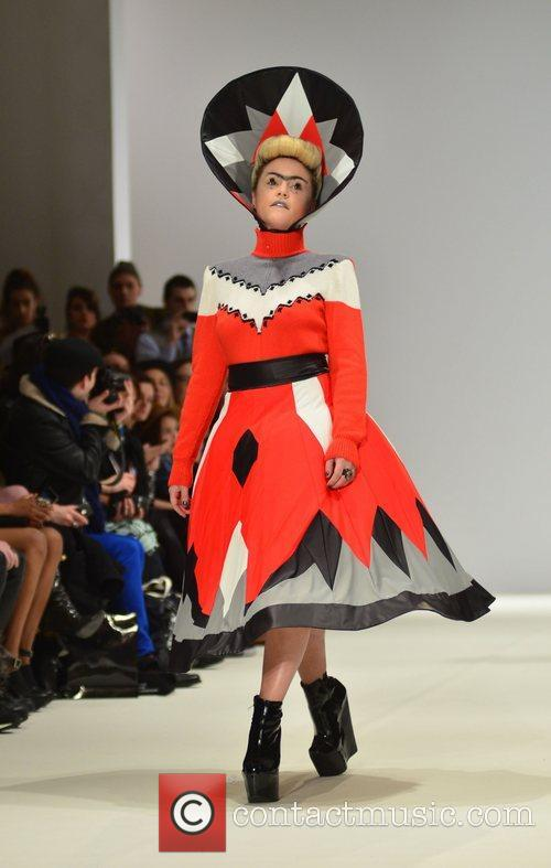 Jaime Winstone and London Fashion Week 10