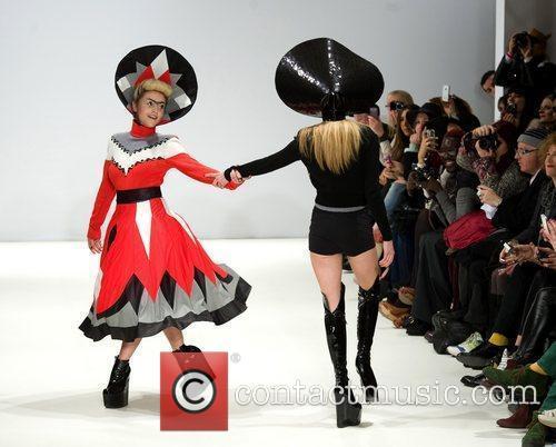 Jaime Winstone and London Fashion Week 4