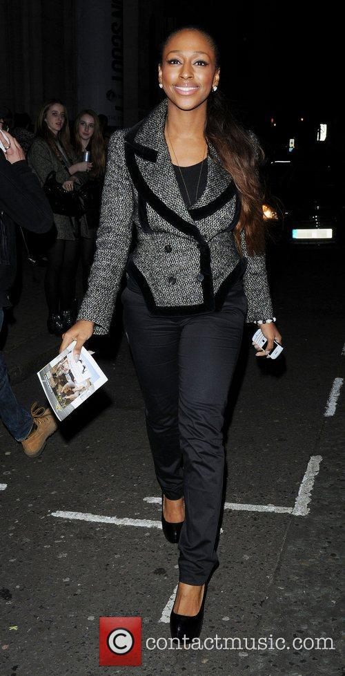 Alexandra Burke and London Fashion Week 10