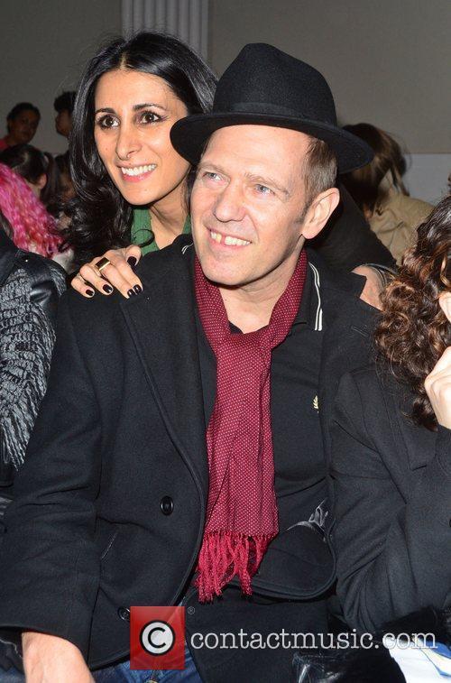 Serena Rees and Paul Simonon London Fashion Week...