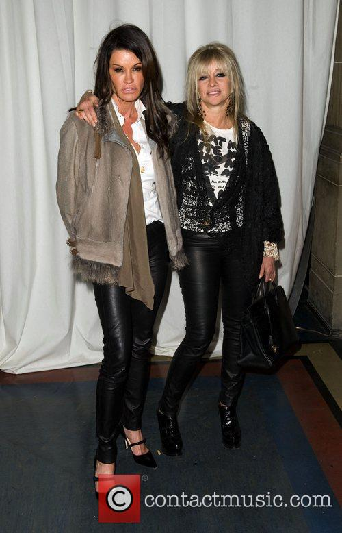 Janice Dickinson, Jo Wood and London Fashion Week 2