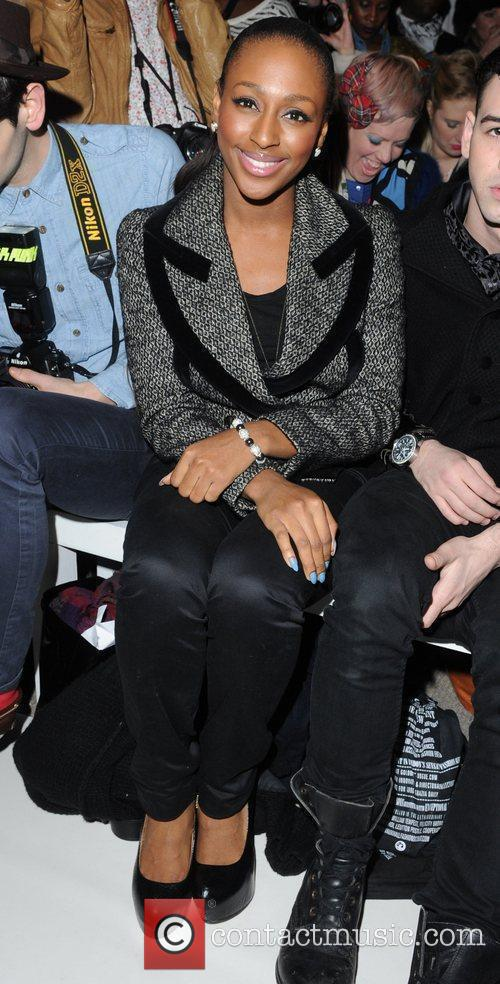 Alexandra Burke and London Fashion Week 4