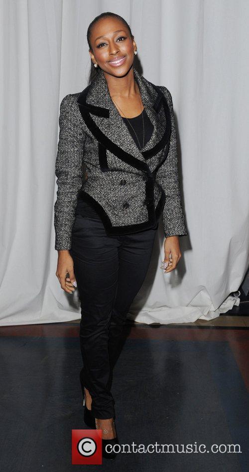 Alexandra Burke and London Fashion Week 5