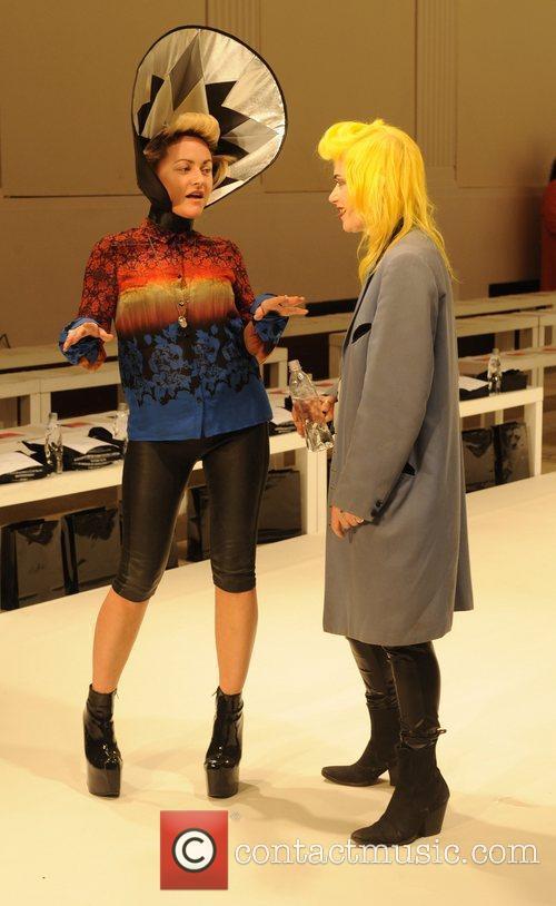 Jaime Winstone and London Fashion Week 8