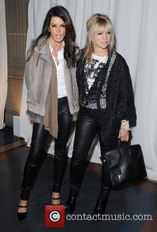 Janice Dickinson, Jo Wood and London Fashion Week 3
