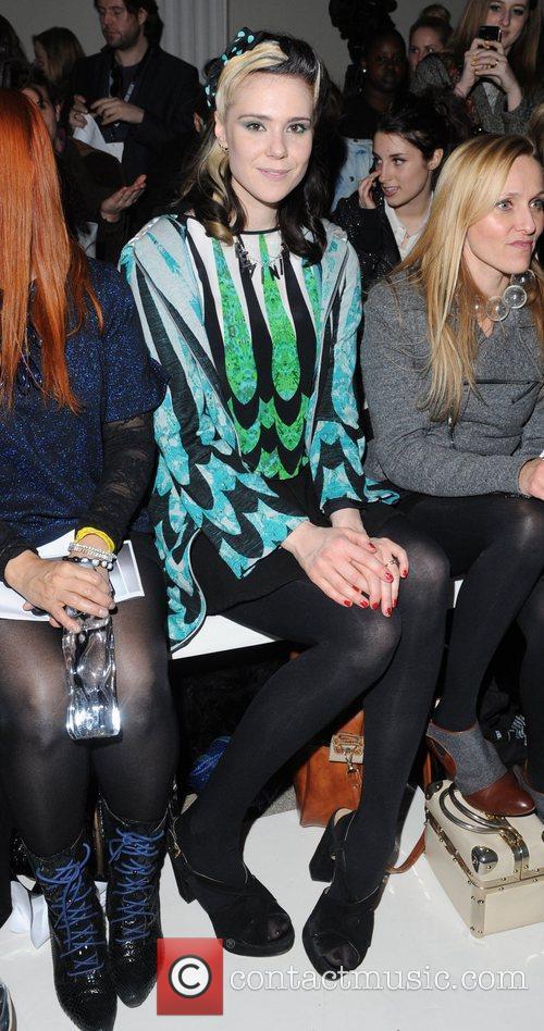 Kate Nash and London Fashion Week 2