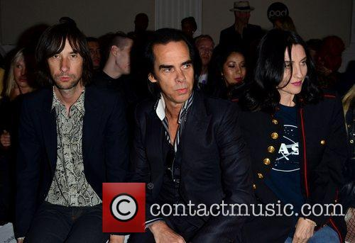 Bobby Gillespie, Nick Cave and Susie Bick 3
