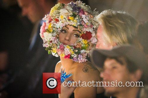 Lady Gaga and London Fashion Week 3