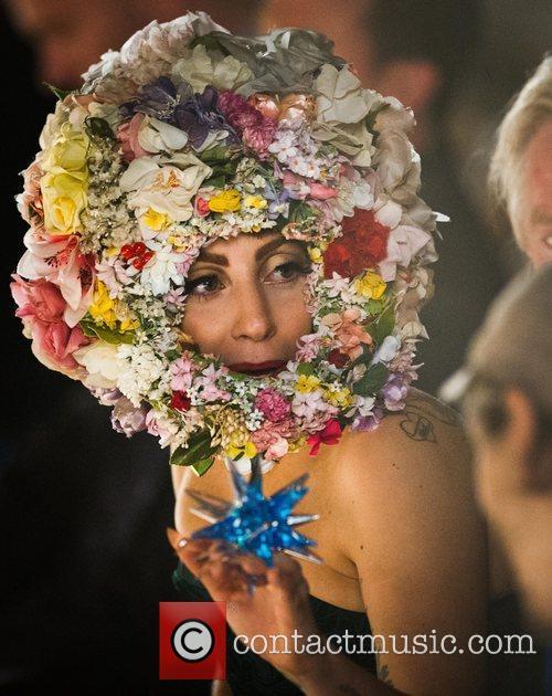 Lady Gaga and London Fashion Week 4