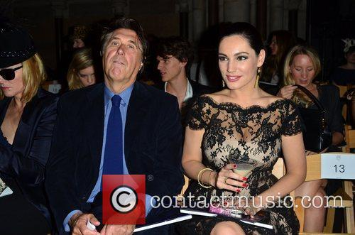 Bryan Ferry and Kelly Brook London Fashion Week...