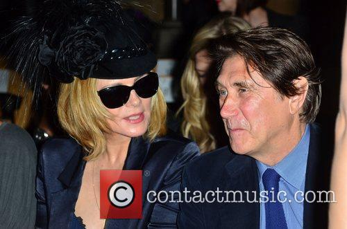 Kim Cattrall and Bryan Ferry London Fashion Week...