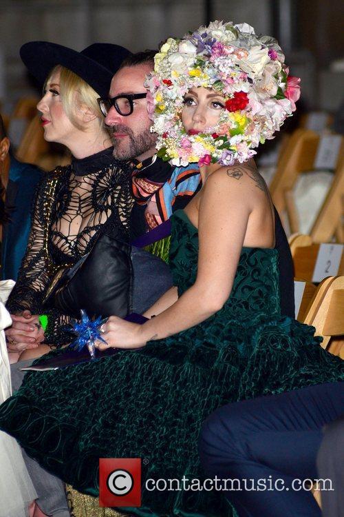 Lady Gaga and London Fashion Week 1