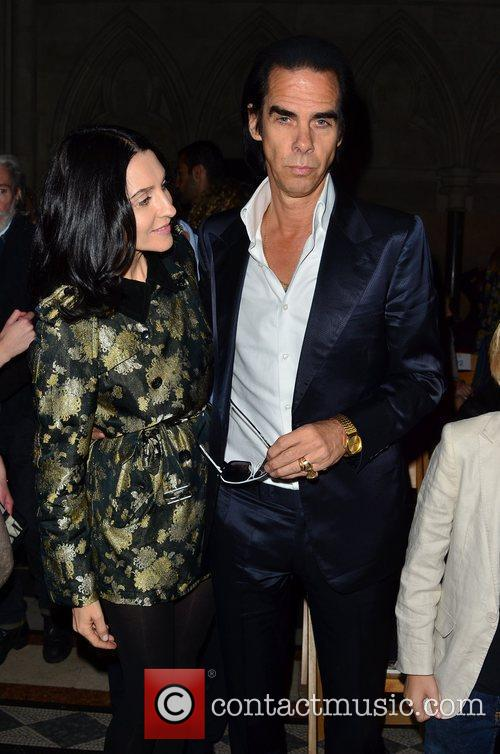 Susie Bick and Nick Cave London Fashion Week...