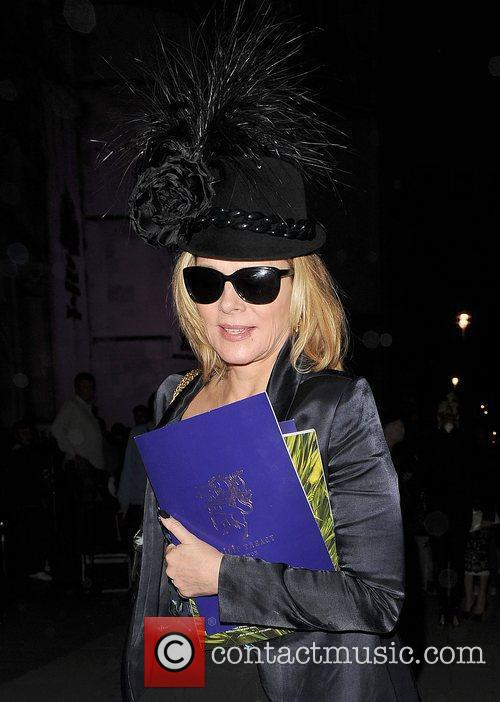 Kim Cattrall and London Fashion Week 2