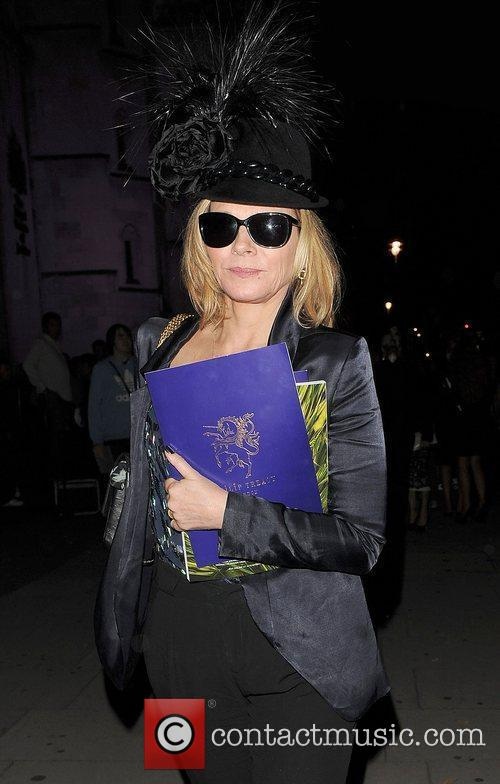 Kim Cattrall and London Fashion Week 3