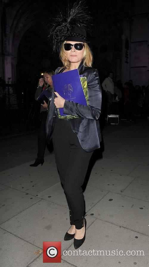 Kim Cattrall and London Fashion Week 5