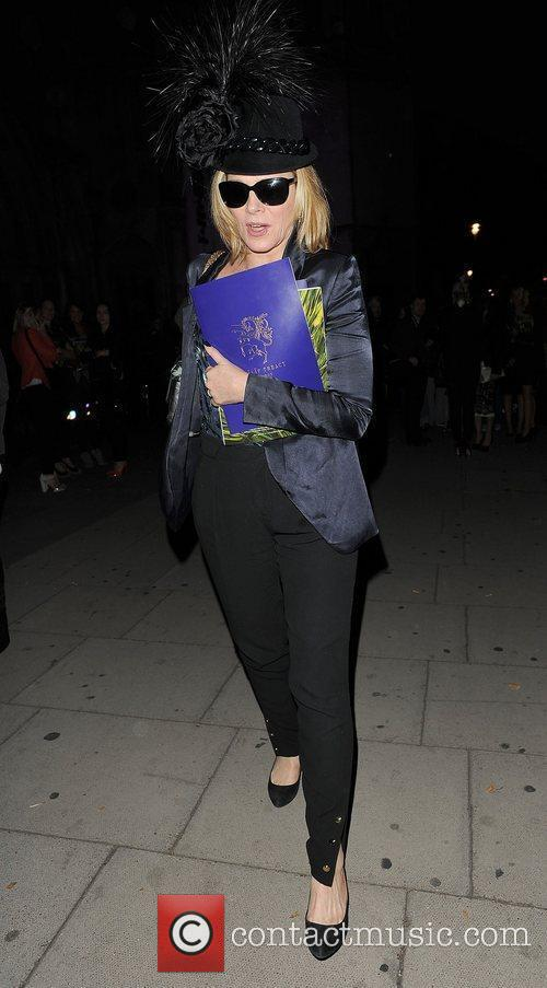Kim Cattrall and London Fashion Week 8