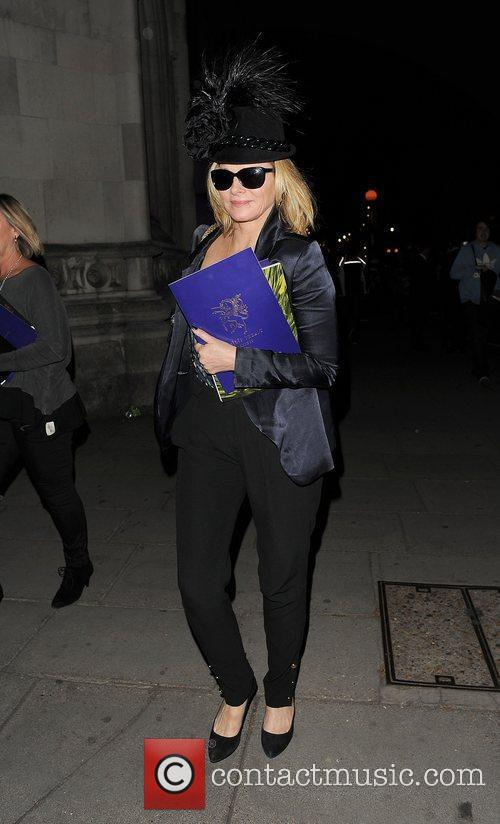 Kim Cattrall and London Fashion Week 9
