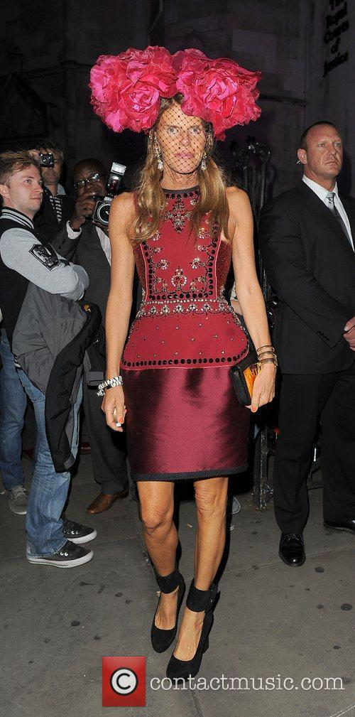 Anna Dello Russo London Fashion Week Spring/Summer 2013...
