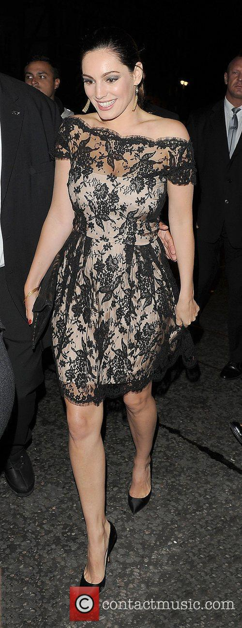 Kelly Brook and London Fashion Week 3