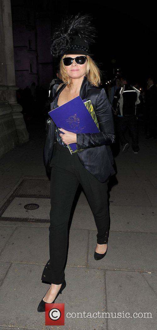 Kim Cattrall and London Fashion Week 10