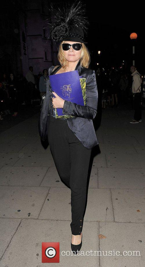 Kim Cattrall and London Fashion Week 11