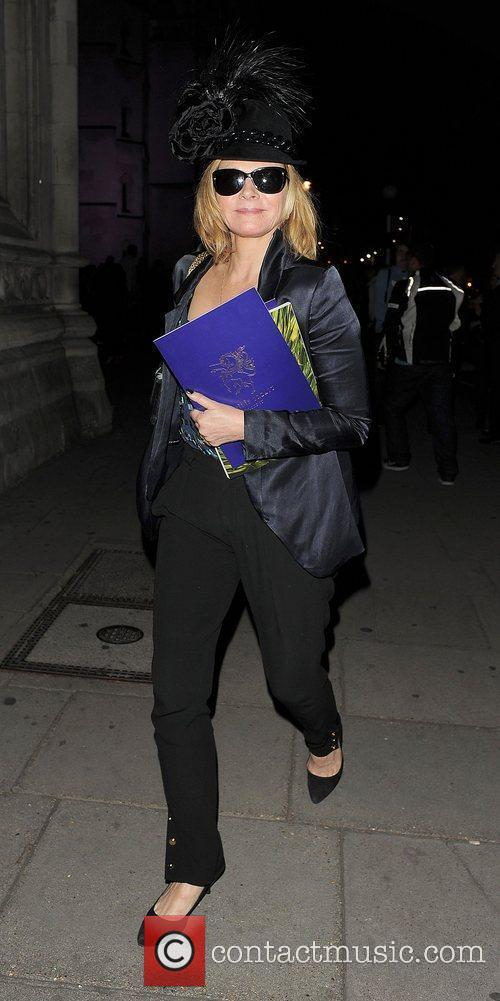 Kim Cattrall and London Fashion Week 12