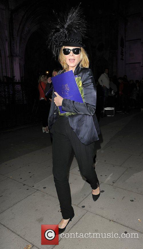 Kim Cattrall and London Fashion Week 13