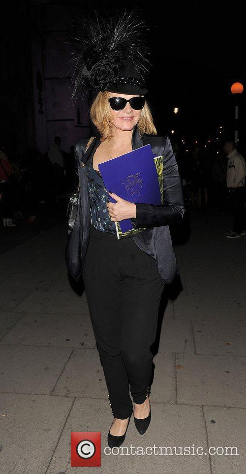 Kim Cattrall and London Fashion Week 14