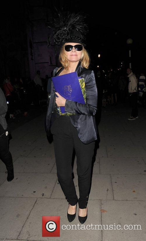 Kim Cattrall and London Fashion Week 15