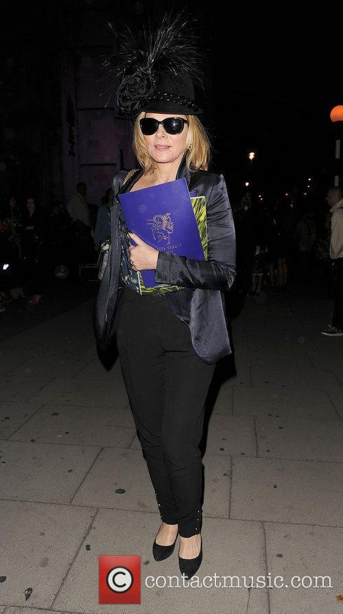 Kim Cattrall and London Fashion Week 17