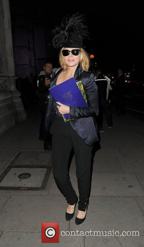 Kim Cattrall and London Fashion Week 18