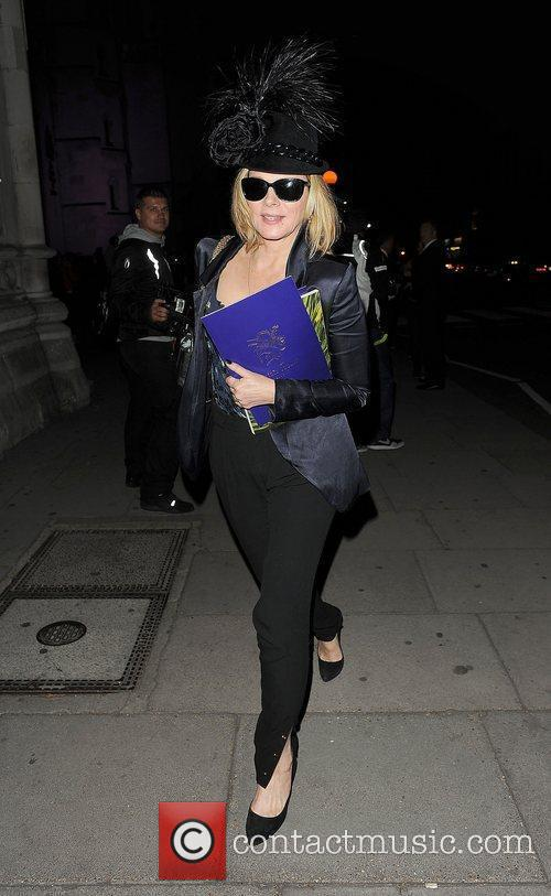 Kim Cattrall and London Fashion Week 19