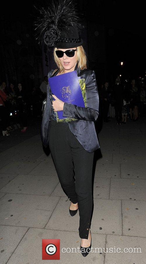 Kim Cattrall and London Fashion Week 20